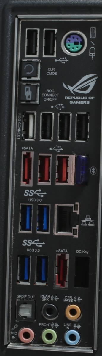 ゲーミングPC/Intel Core i7-4930K 12スレッド x79@4.6Ghz /Rampage IV Extreme/GTX 1080 FE/メモリ 32GB ecc/SSD 500GB+ 4TB HDD/750W_画像5