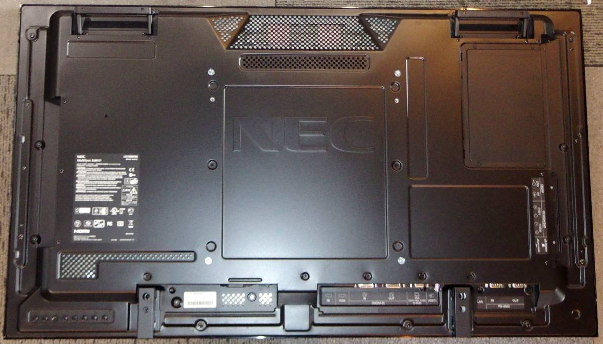 【動作確認済】 NEC 40型液晶ディスプレイ LCD-X401S-N2 MultiSync デジタルサイネージ ネットワーク接続 マルチディスプレイ 中古 endstbN