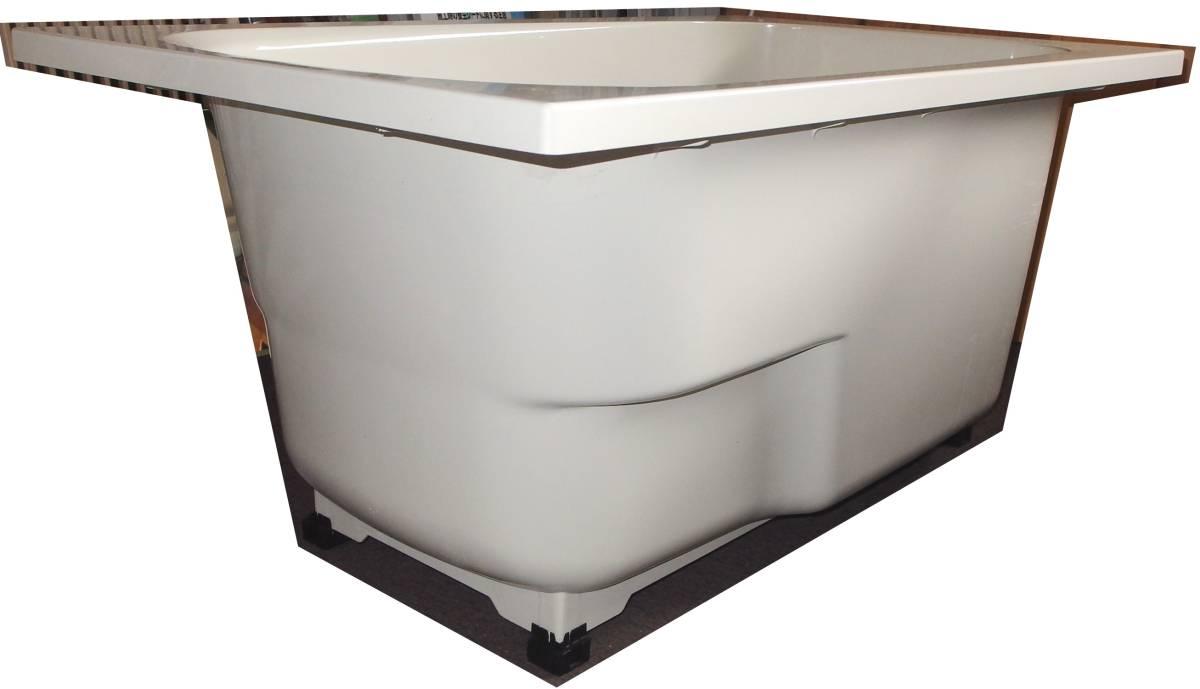 【在庫品】 LIXIL INAX FRP浴槽 B-1200P オフホワイト エプロン ゴム栓 幅1200 未使用未施工 endstbN_画像5