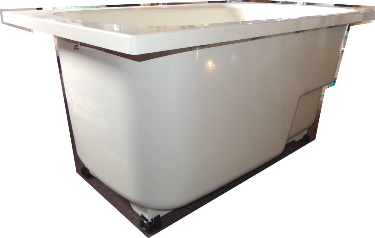 【在庫品】 LIXIL INAX FRP浴槽 B-1200P オフホワイト エプロン ゴム栓 幅1200 未使用未施工 endstbN_画像6