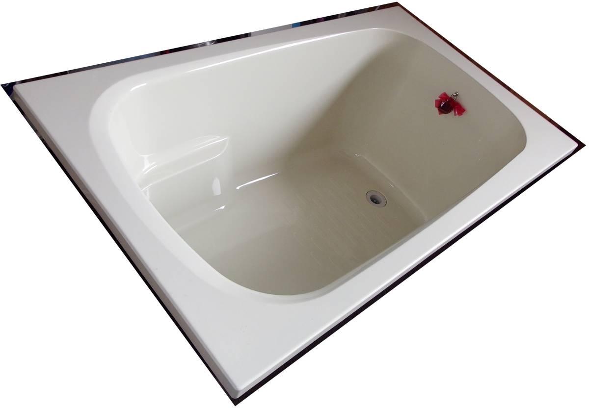 【在庫品】 LIXIL INAX FRP浴槽 B-1200P オフホワイト エプロン ゴム栓 幅1200 未使用未施工 endstbN_画像2