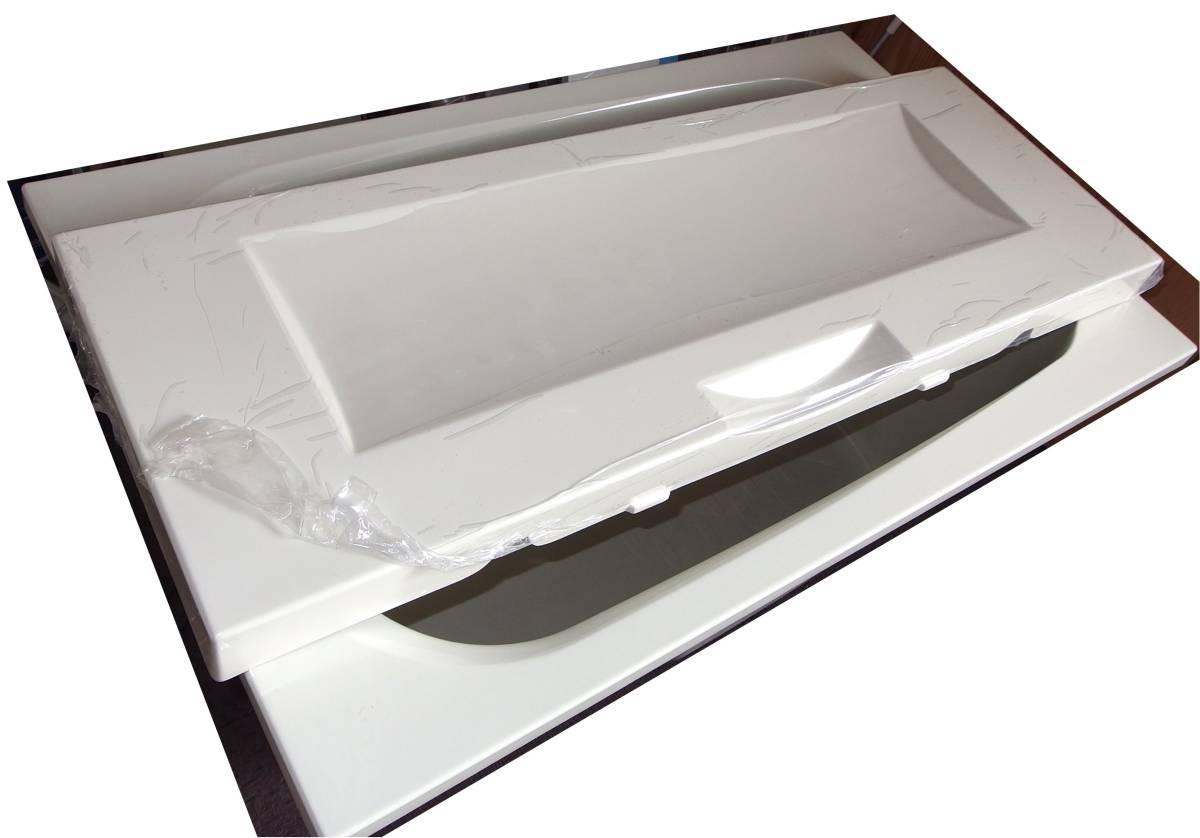 【在庫品】 LIXIL INAX FRP浴槽 B-1200P オフホワイト エプロン ゴム栓 幅1200 未使用未施工 endstbN_画像8