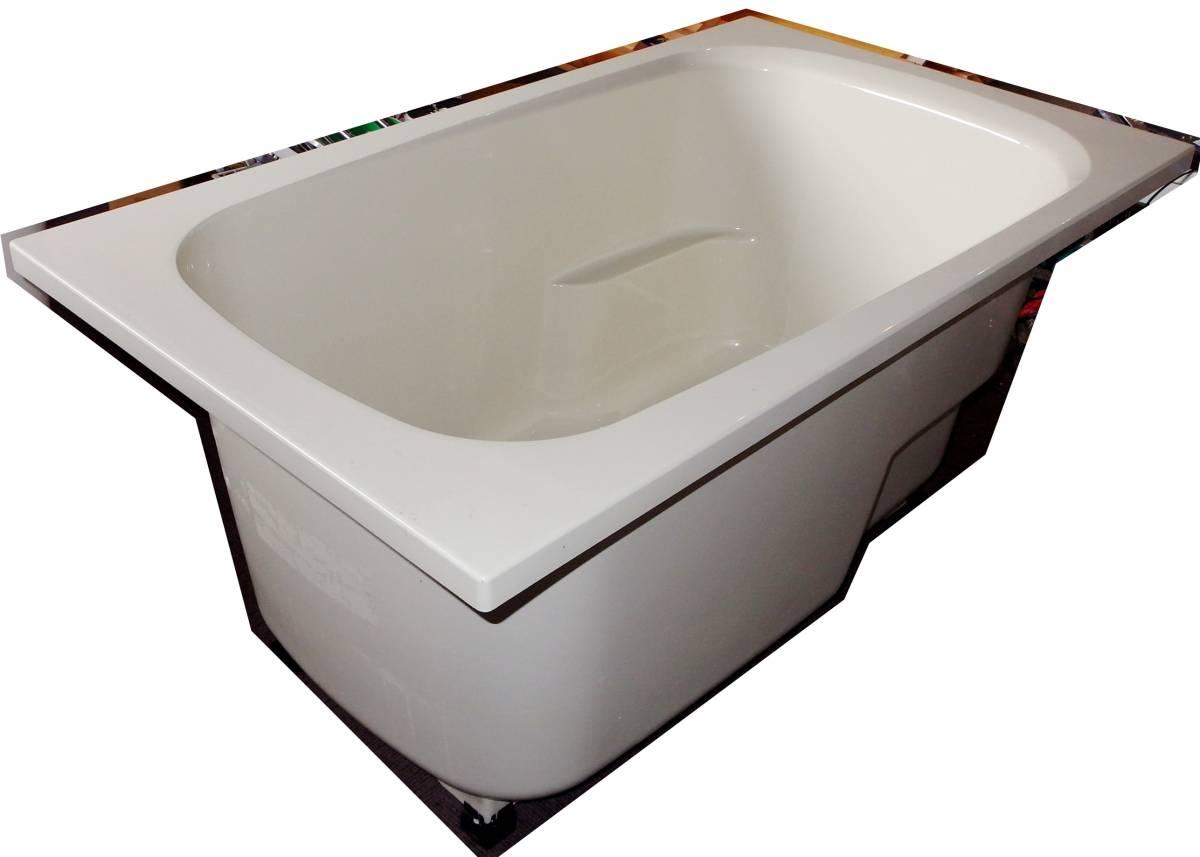 【在庫品】 LIXIL INAX FRP浴槽 B-1200P オフホワイト エプロン ゴム栓 幅1200 未使用未施工 endstbN