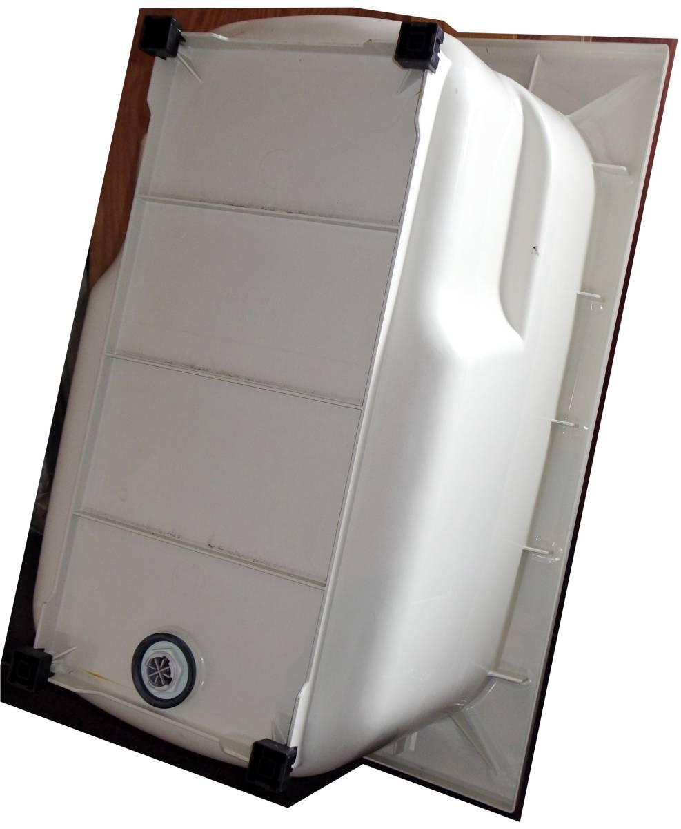 【在庫品】 LIXIL INAX FRP浴槽 B-1200P オフホワイト エプロン ゴム栓 幅1200 未使用未施工 endstbN_画像7
