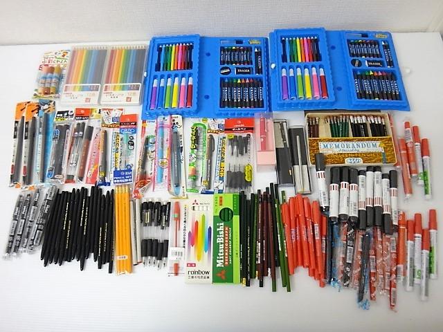 大量!◆新品【筆記用具 福袋】ボールペン/シャーペン/鉛筆/サインペン/マジック/筆ペン/クレヨン/色鉛筆/万年筆