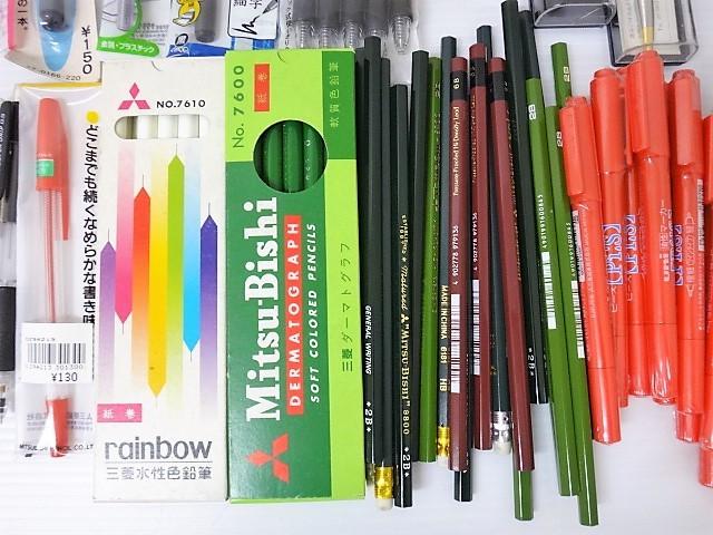 大量!◆新品【筆記用具 福袋】ボールペン/シャーペン/鉛筆/サインペン/マジック/筆ペン/クレヨン/色鉛筆/万年筆_画像8
