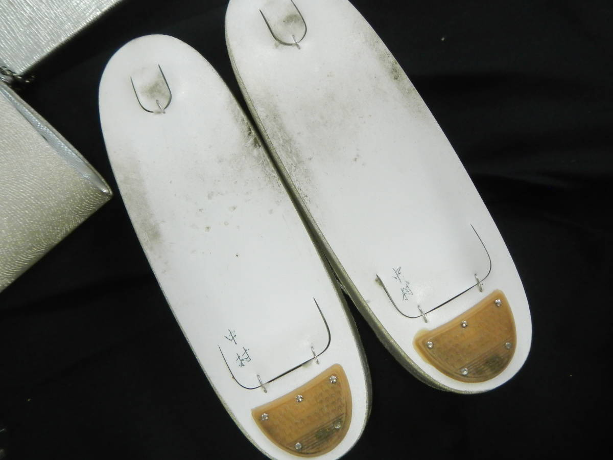 <銀の斧>和装・草履バッグセット・正装用_画像5