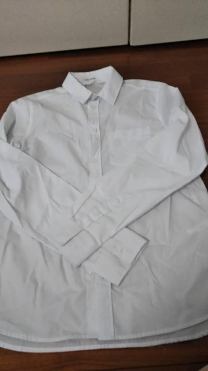 H&M ワイシャツ白