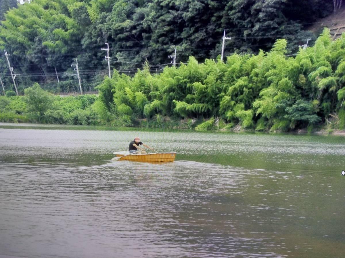明石ヨット製作所 大漁丸 三分割ボート 2人用 中古_画像3
