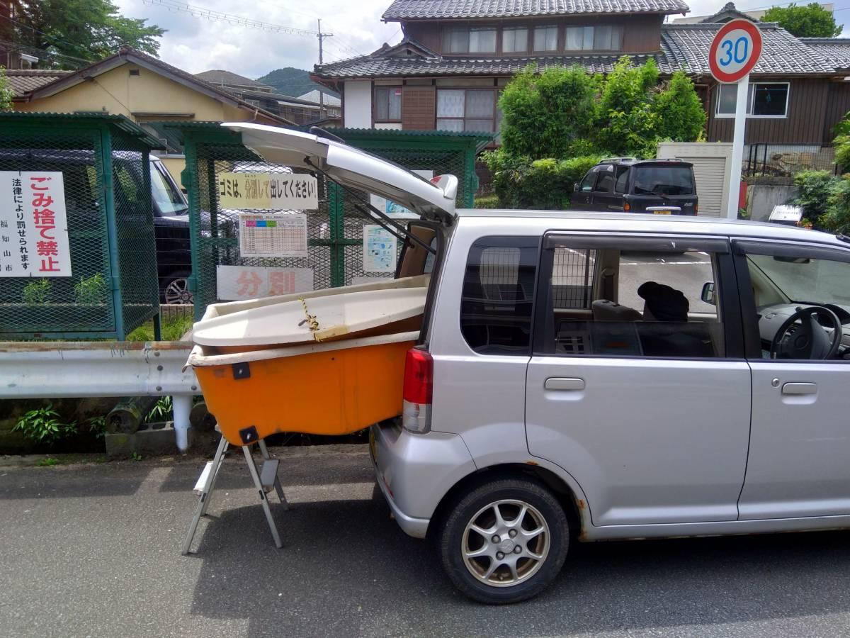 明石ヨット製作所 大漁丸 三分割ボート 2人用 中古_画像5