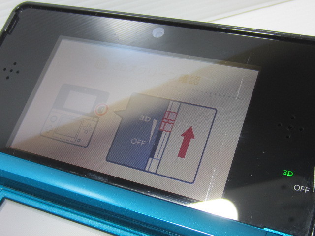 ☆任天堂 3DS 本体 グリーン(Ver.9.4.0-0J)!!_画像8