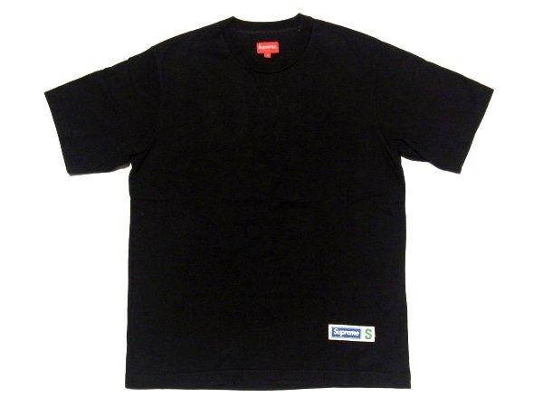 極美 18SS Supreme Athletic Label S/S Top Sサイズ アスレチック レーベル カットソー Black 黒 Tシャツ_画像2