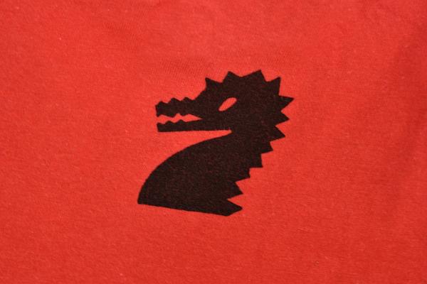 S-7026★送料無料★ASIYA CUP DORAGON BOATRACE 芦屋カップ ドラゴン ボートレース★レッド赤色 両面プリント 半袖Tシャツ XL_画像4