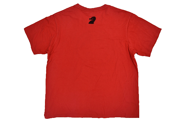 S-7026★送料無料★ASIYA CUP DORAGON BOATRACE 芦屋カップ ドラゴン ボートレース★レッド赤色 両面プリント 半袖Tシャツ XL_画像3