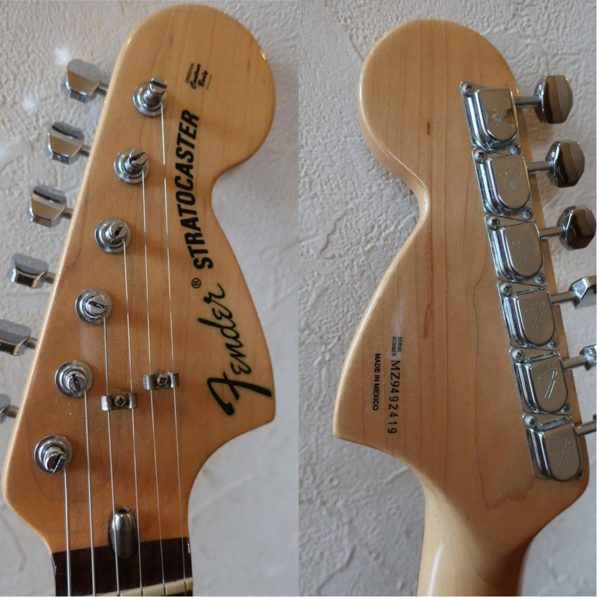 【RELIC】Fender Mexico Classic 70s Stratocaster 3CS/R 手巻きVooDooピックアップ +EMERSON CUSTOM ヴィンテージハードケース付き_画像4