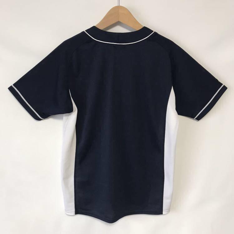 ASICS アシックス 中日ドラゴンズ☆ベースボールTシャツ/ビジター/サイズM_画像3