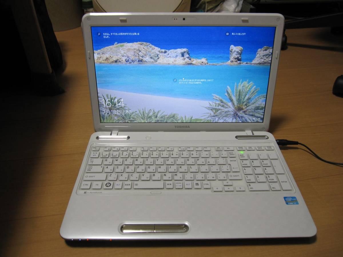 少し難あり 大容量1TB HDD搭載東芝Dynabook T451 第3世代Core7-2670QMプロセッサー 2.20GHzターボブースト時3.10GHz