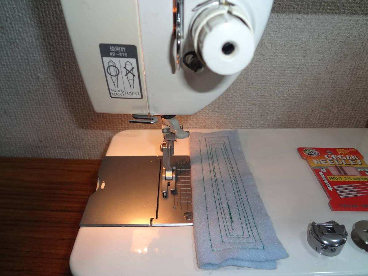 ◆64 整備済 ブラザー 日本製 brother 職業用ミシン Nouvelle 400 TA635◆自動糸切