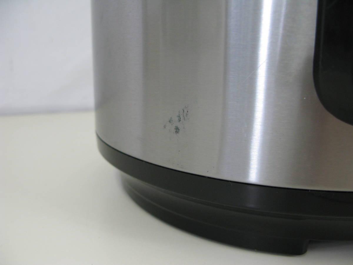プレッシャー キングプロ 電気圧力鍋 SC-30SA-J01 マルチ 圧力鍋 6:8JKL0.5_画像3
