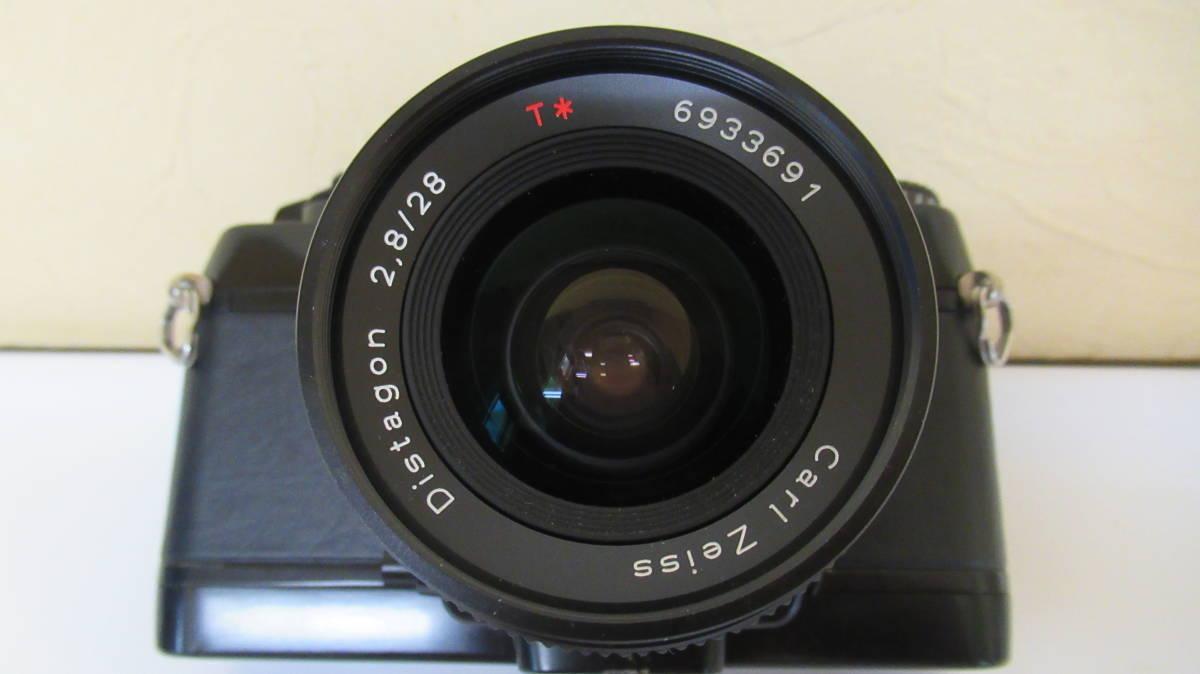 ☆A-13 CONTAX コンタックス 一眼レフカメラ 137 ボディ 28mm ジャンク品_画像2