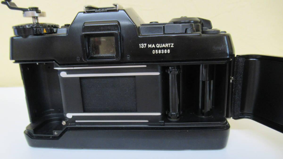 ☆A-13 CONTAX コンタックス 一眼レフカメラ 137 ボディ 28mm ジャンク品_画像6
