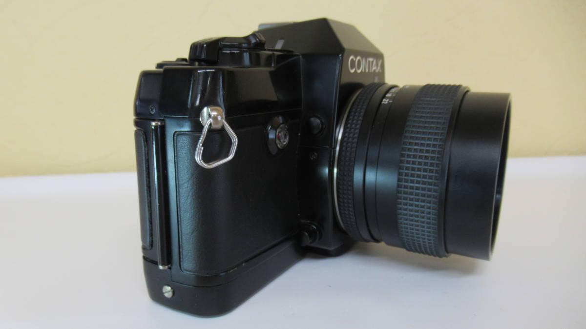 ☆A-13 CONTAX コンタックス 一眼レフカメラ 137 ボディ 28mm ジャンク品_画像7