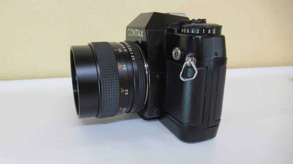 ☆A-13 CONTAX コンタックス 一眼レフカメラ 137 ボディ 28mm ジャンク品_画像8
