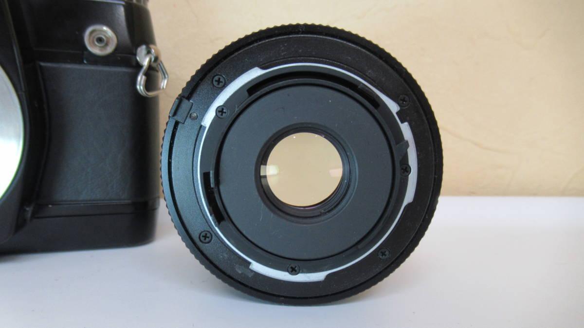 ☆A-13 CONTAX コンタックス 一眼レフカメラ 137 ボディ 28mm ジャンク品_画像9