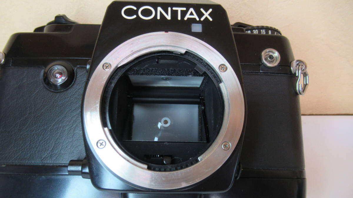 ☆A-13 CONTAX コンタックス 一眼レフカメラ 137 ボディ 28mm ジャンク品_画像10