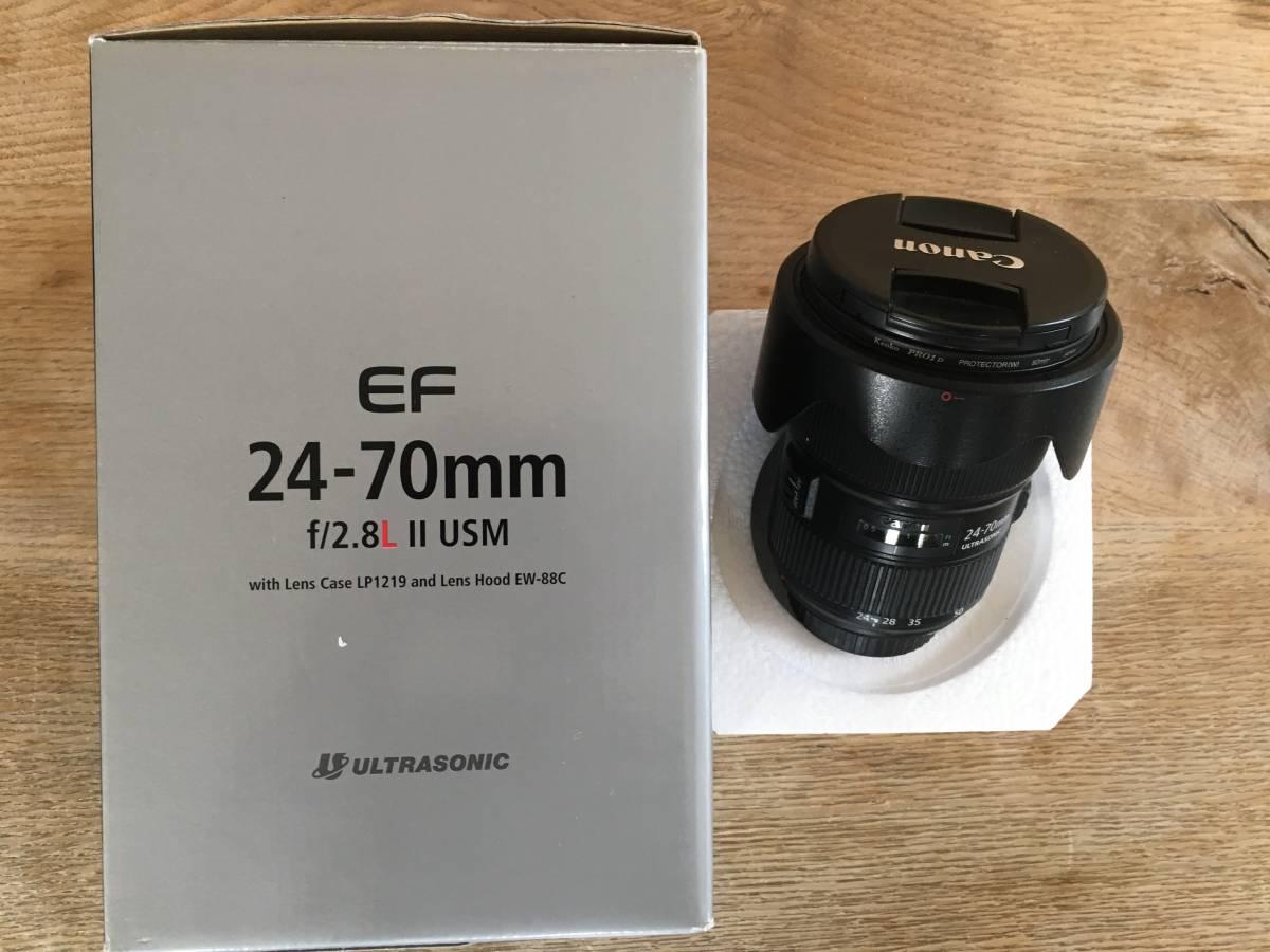 ★キャノンCanon EF 20-70mm /f 2.8 L Ⅱ USM ズームレンズ 中古美品