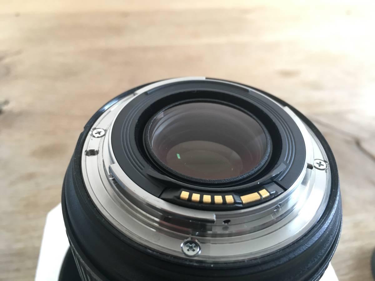 ★キャノンCanon EF 20-70mm /f 2.8 L Ⅱ USM ズームレンズ 中古美品_画像4