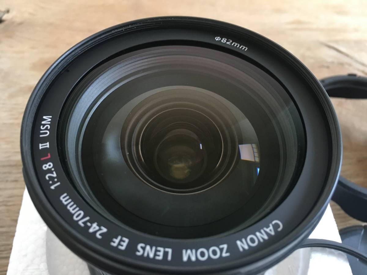★キャノンCanon EF 20-70mm /f 2.8 L Ⅱ USM ズームレンズ 中古美品_画像5