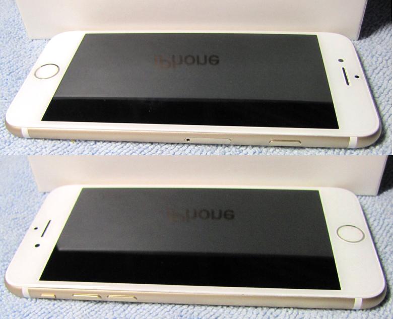 傷なし 新品同様美品 SIMフリー 化済 Apple iPhone7 128GB ゴールド docomo版 SIMロック解除済 格安SIM OK iphone 7 スピード発送_画像7