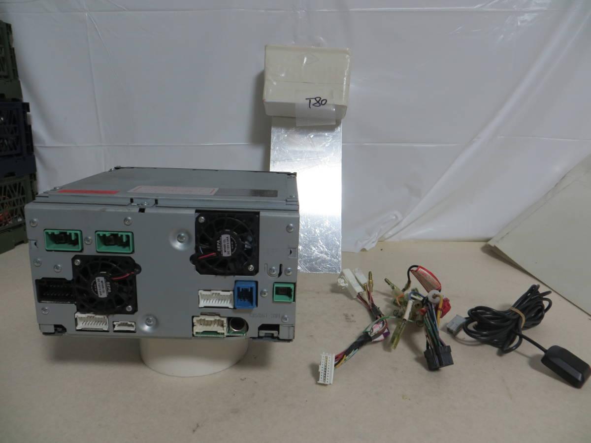 T80 動作保証保障イクリプス人気HDDナビ2007-8年/AVN687HD/TV地デジフルセグ内臓/CD.DVD/動作品 配線付き_画像7