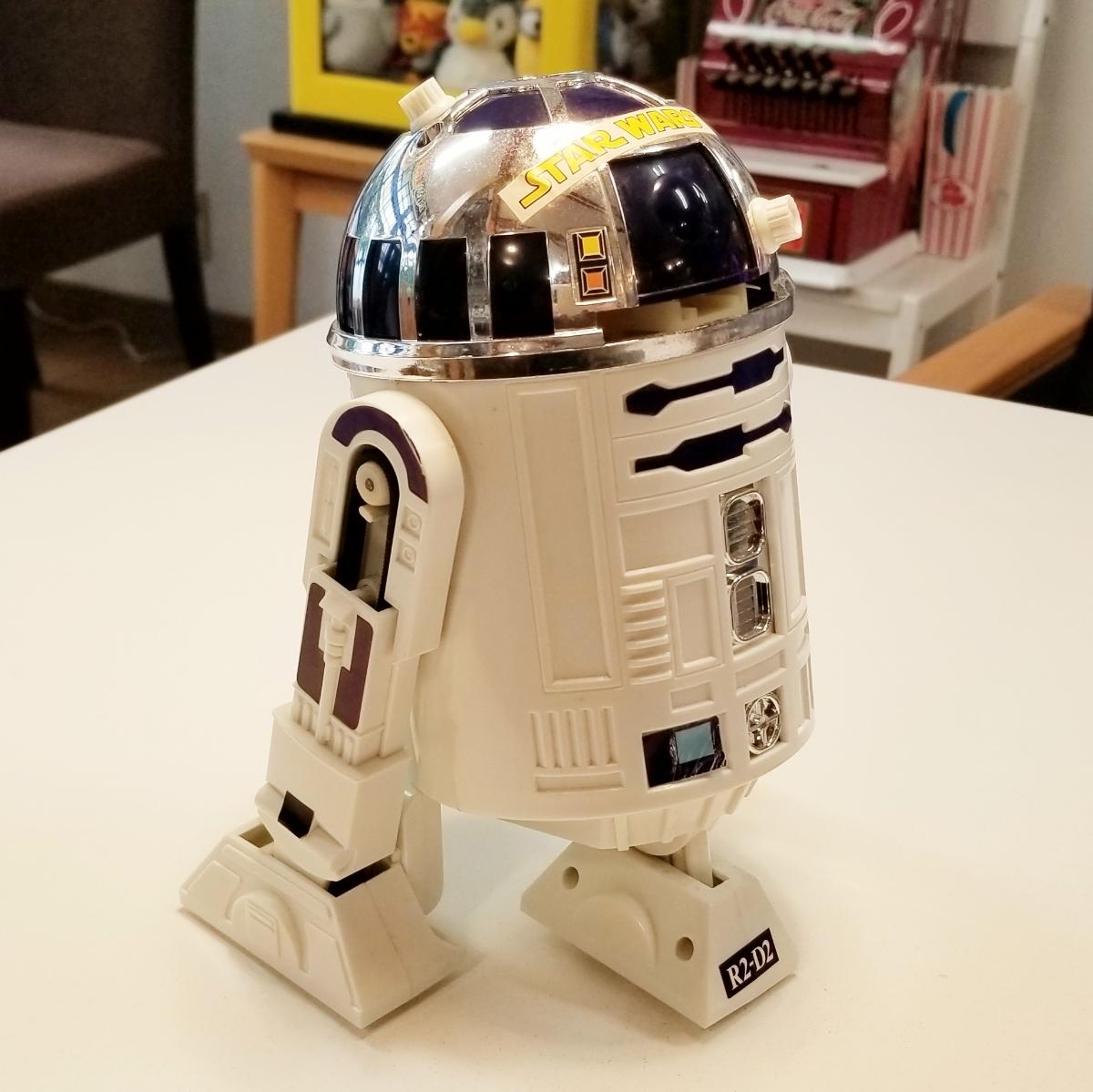 (当時ものレア) タカラ スーパー コントロール   スターウォーズ R2-D2_画像2