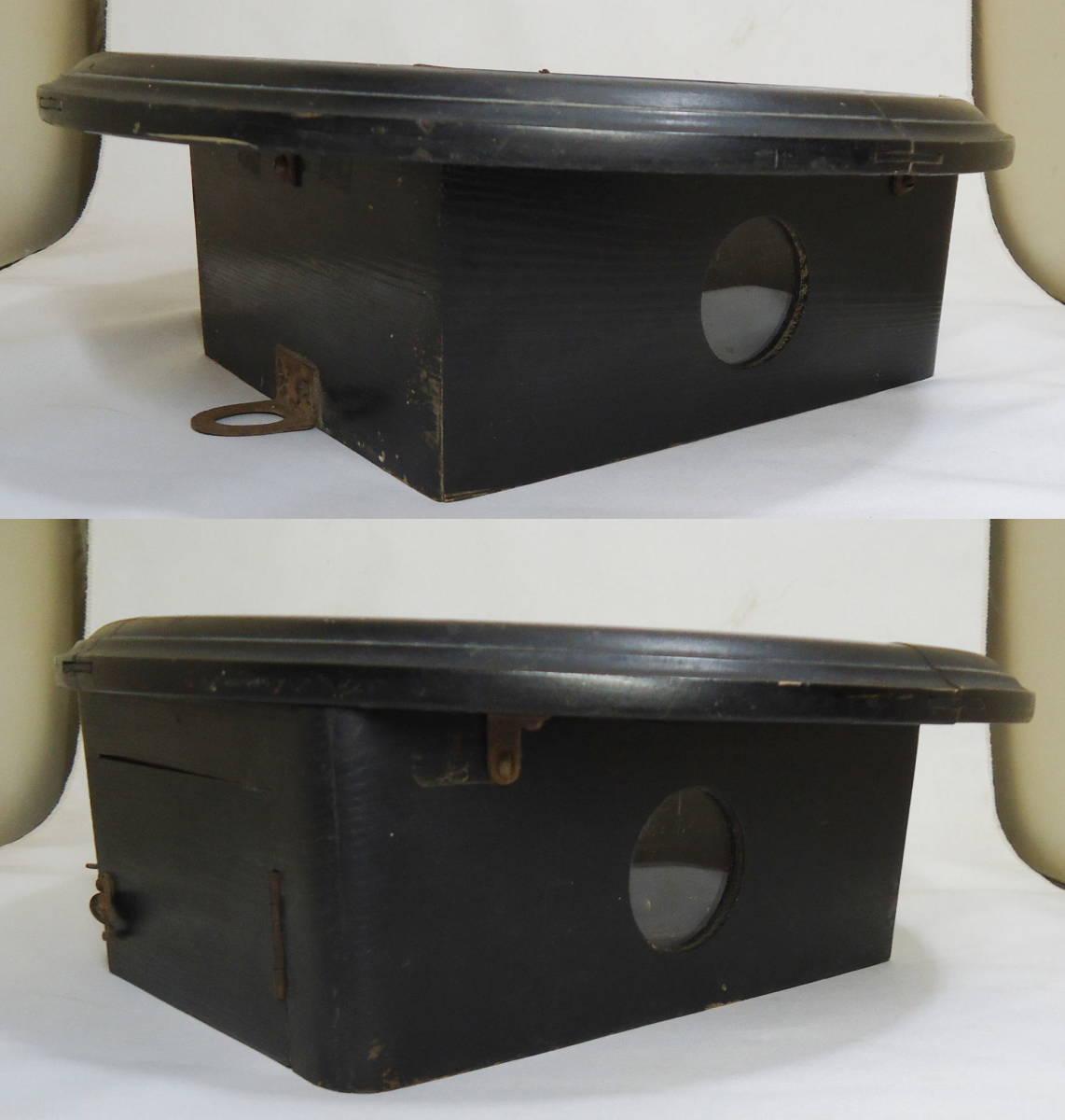 ドイツ製 ユンハンス 小型 柱時計 Jマーク/ガラス文字盤 動作品_画像5