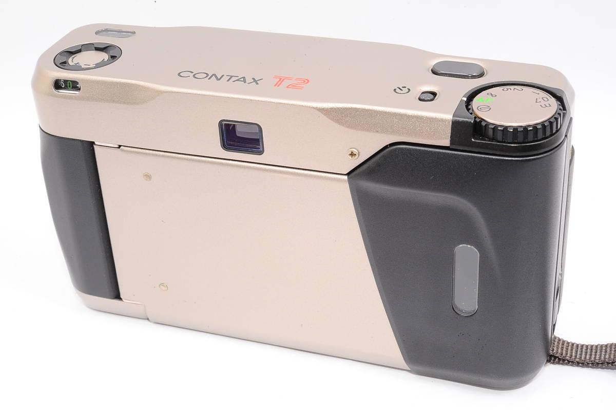 コンタックス CONTAX T2 ゾナー 38mm F2.8 T* コンパクトフィルムカメラ + ストラップ付き [152292]_画像2