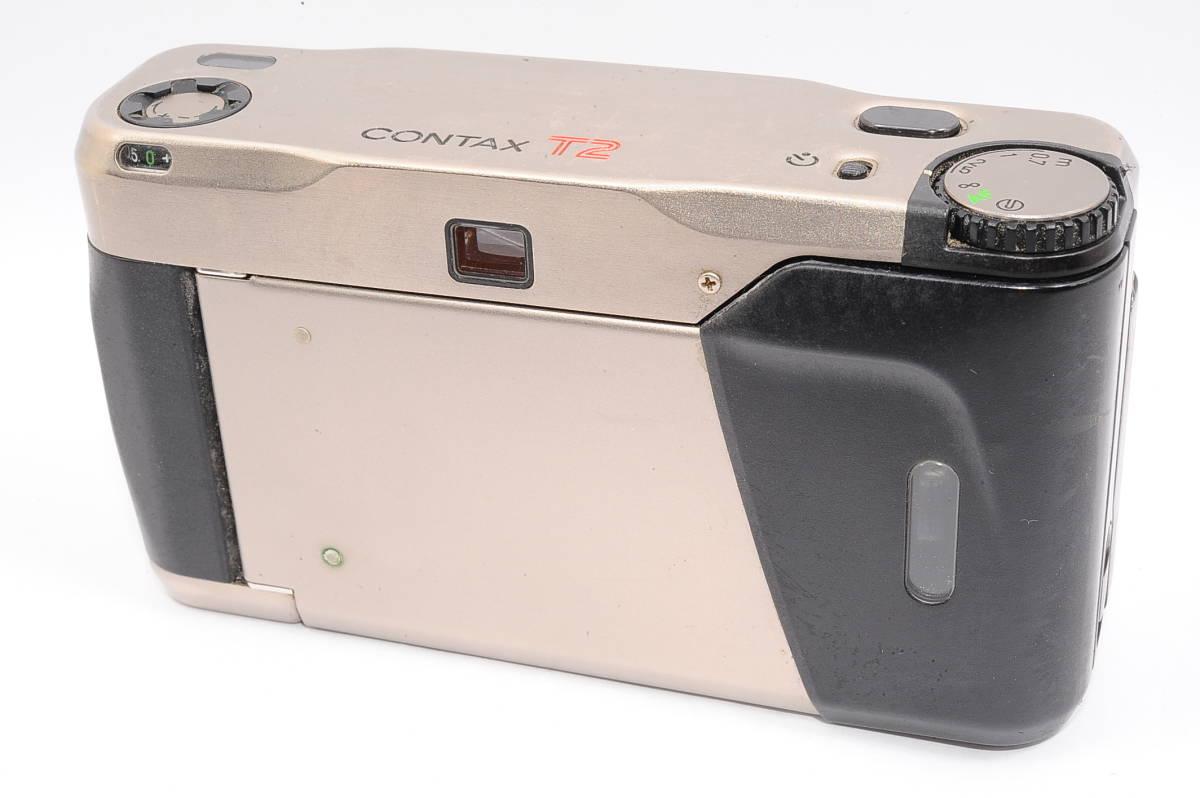 コンタックス CONTAX T2 ゾナー 38mm F2.8 T* コンパクトフィルムカメラ [071478]_画像2