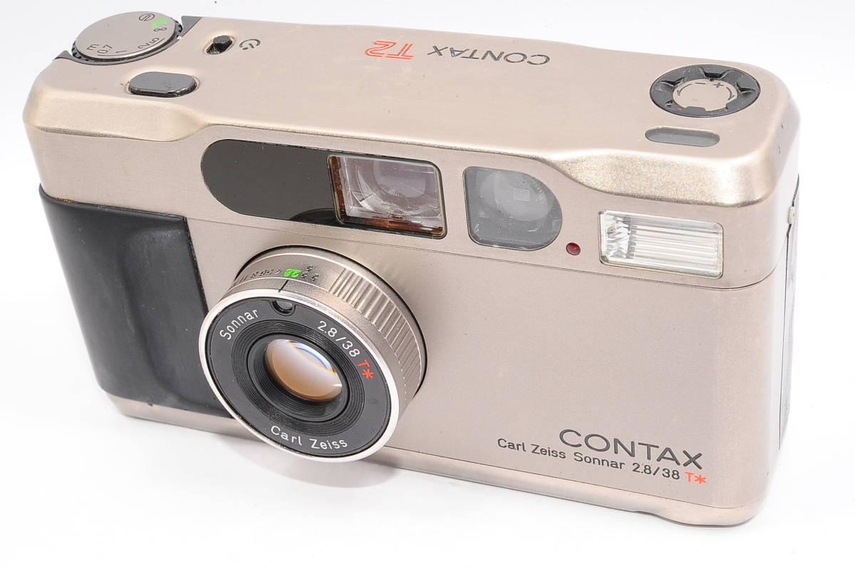 コンタックス CONTAX T2 ゾナー 38mm F2.8 T* コンパクトフィルムカメラ [071478]