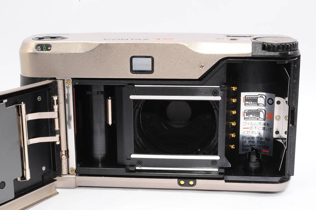 コンタックス CONTAX T2 ゾナー 38mm F2.8 T* コンパクトフィルムカメラ [071478]_画像3