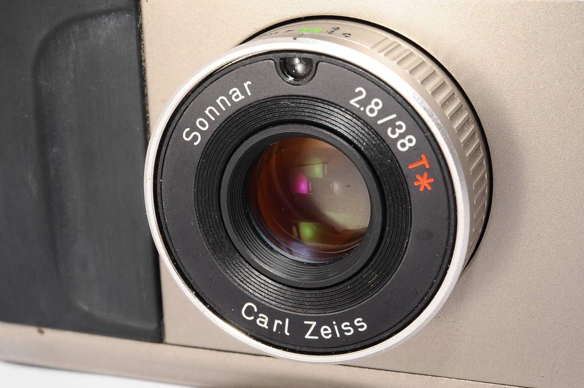 コンタックス CONTAX T2 ゾナー 38mm F2.8 T* コンパクトフィルムカメラ [071478]_画像6