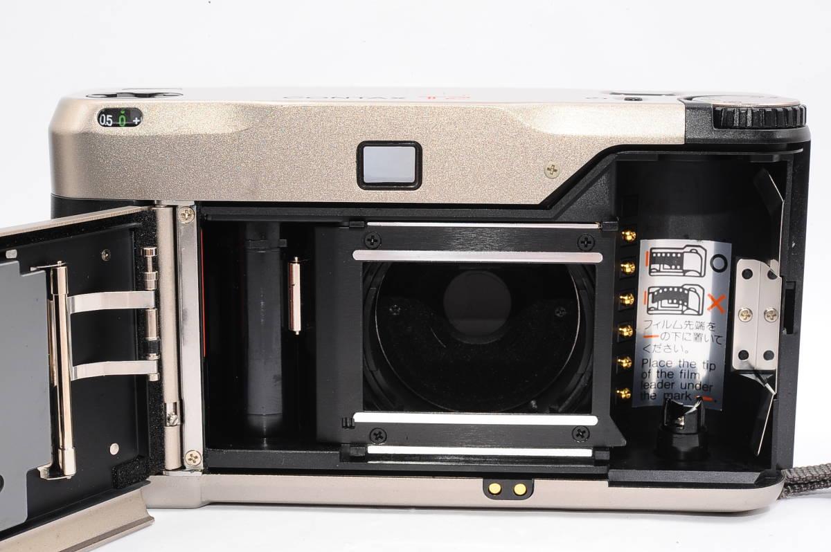 コンタックス CONTAX T2 ゾナー 38mm F2.8 T* コンパクトフィルムカメラ + 専用ポーチ、ストラップ付き [138497]_画像3