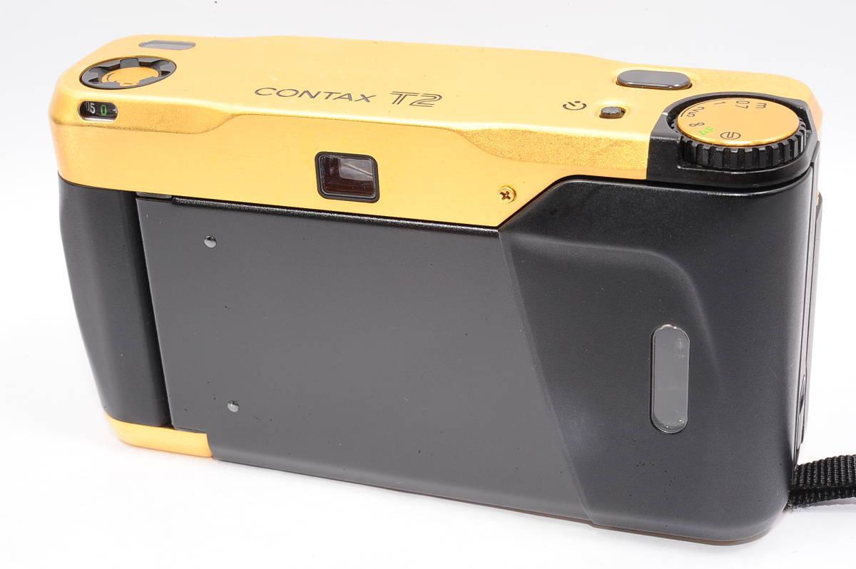 コンタックス CONTAX T2 ゾナー 38mm F2.8 T* 60Years コンパクトフィルムカメラ + 専用ポーチ,ストラップ付き 60周年記念モデル [EUR2332]_画像2