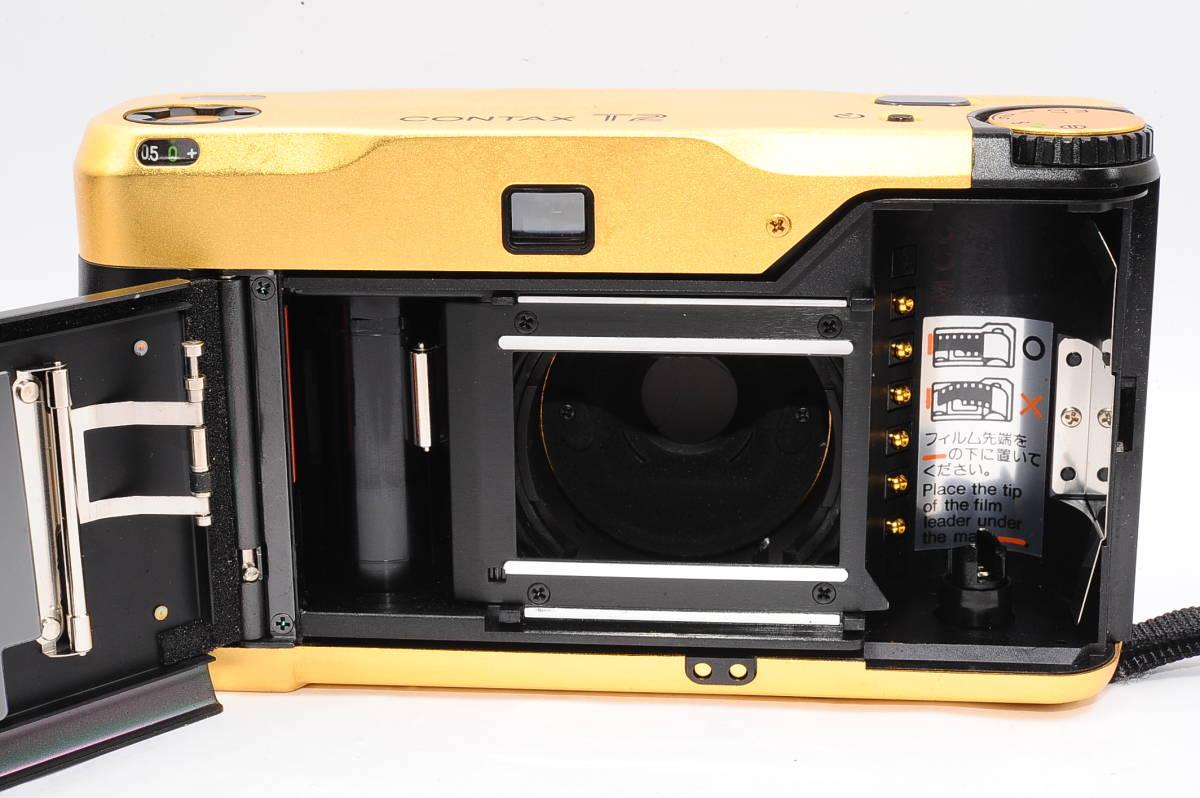 コンタックス CONTAX T2 ゾナー 38mm F2.8 T* 60Years コンパクトフィルムカメラ + 専用ポーチ,ストラップ付き 60周年記念モデル [EUR2332]_画像3