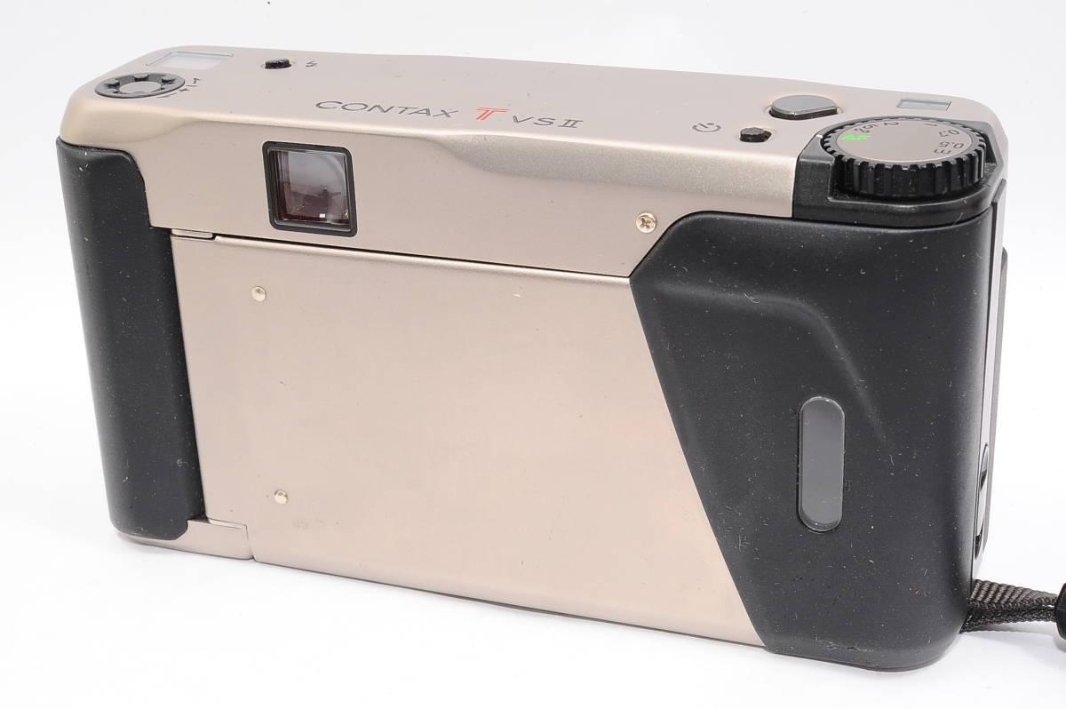 コンタックス CONTAX TVS II/2 バリオゾナー 28-56mm F3.5-6.5 T* コンパクトフィルムカメラ + 専用ポーチ、ストラップ付 [112748]_画像2