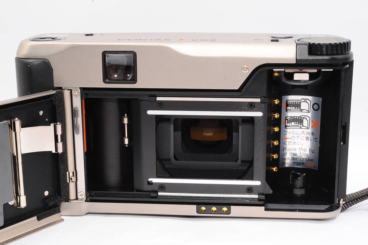 コンタックス CONTAX TVS II/2 バリオゾナー 28-56mm F3.5-6.5 T* コンパクトフィルムカメラ + 専用ポーチ、ストラップ付 [112748]_画像3