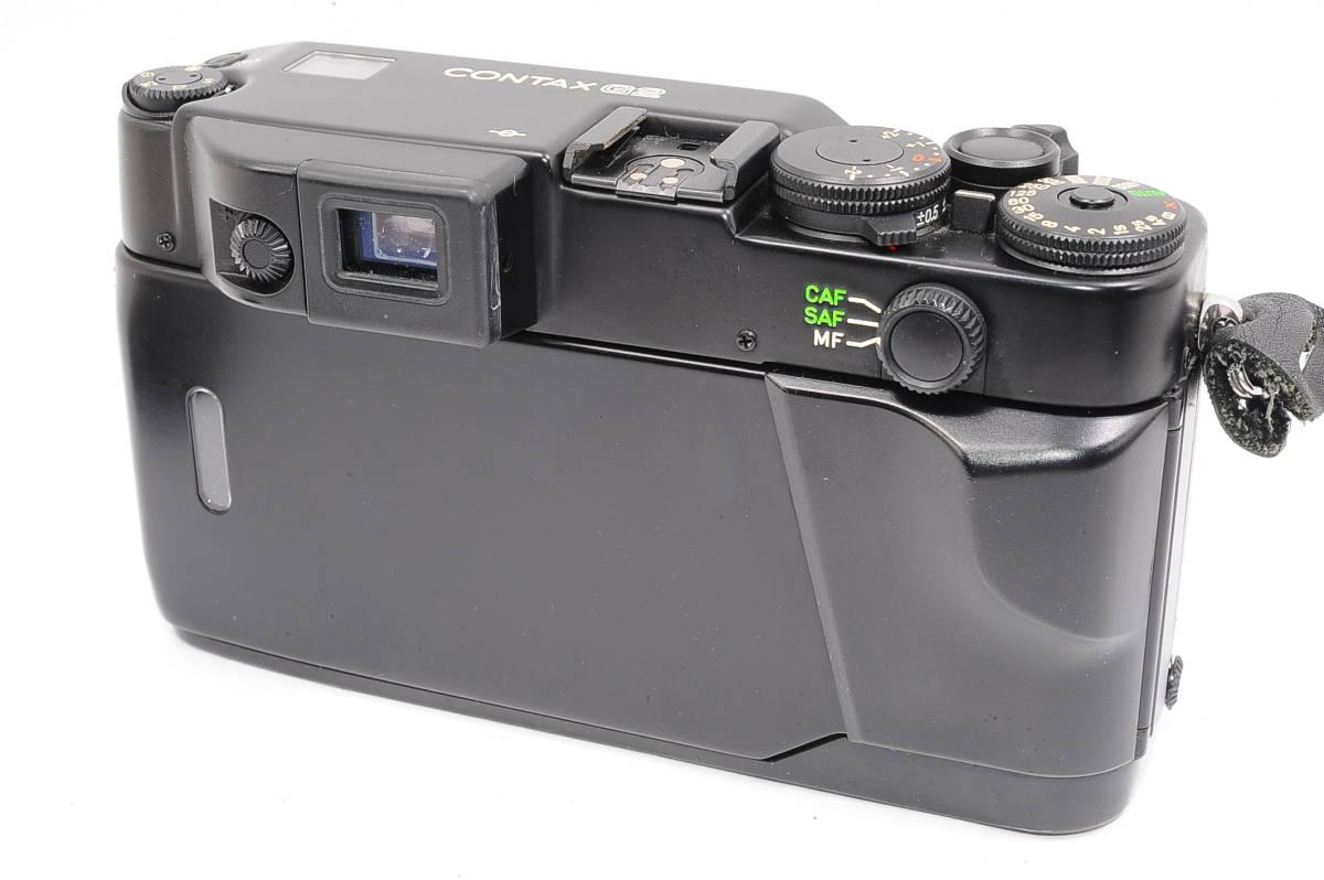 コンタックス CONTAX G2 記念キット-ブラック (ゾナー90mm,プラナー45mm ビオゴン28mm ,TLA200) + 専用ケース,フード,ストラップ [047187]_画像3