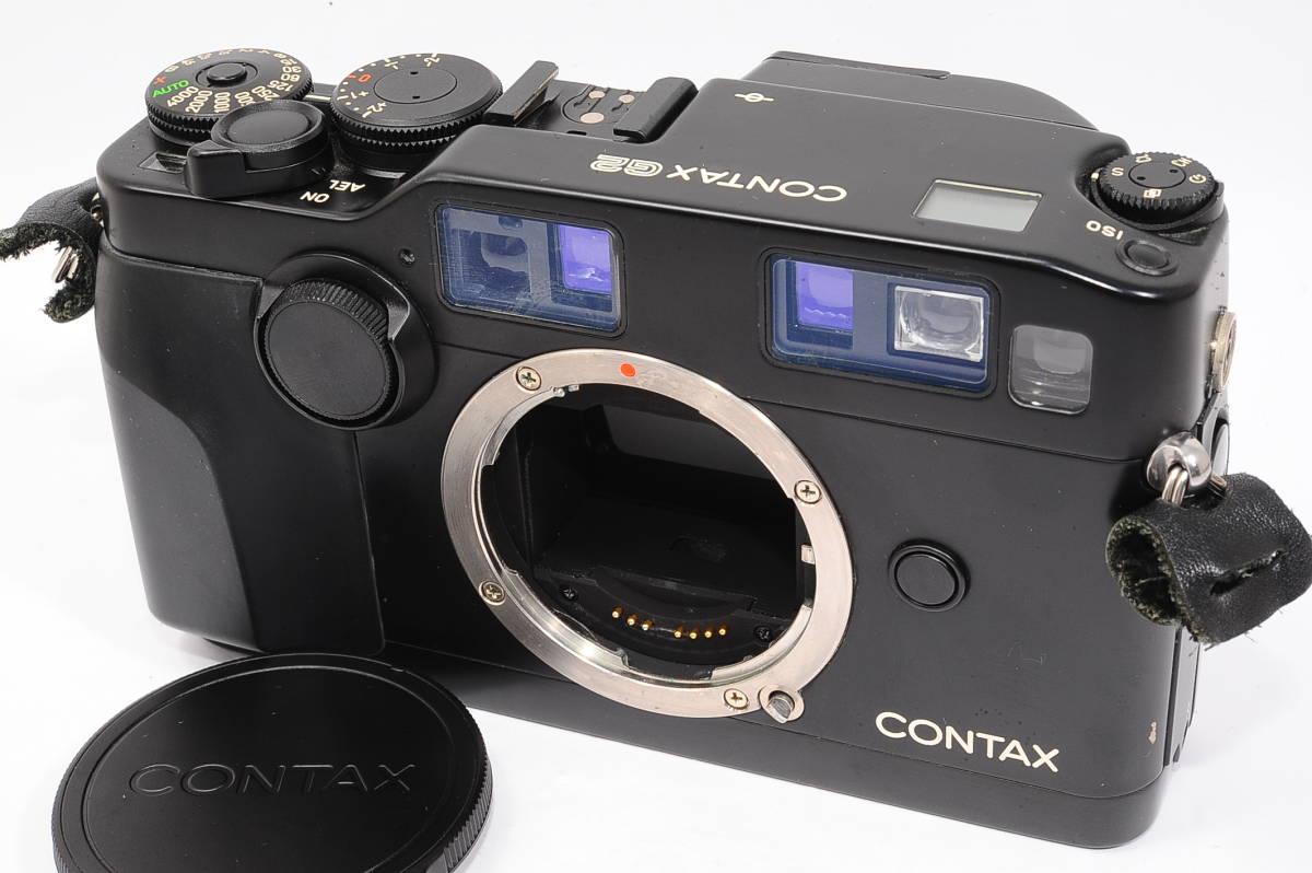 コンタックス CONTAX G2 記念キット-ブラック (ゾナー90mm,プラナー45mm ビオゴン28mm ,TLA200) + 専用ケース,フード,ストラップ [047187]_画像2