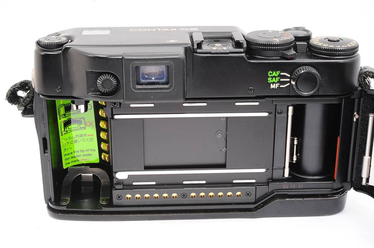 コンタックス CONTAX G2 記念キット-ブラック (ゾナー90mm,プラナー45mm ビオゴン28mm ,TLA200) + 専用ケース,フード,ストラップ [047187]_画像4