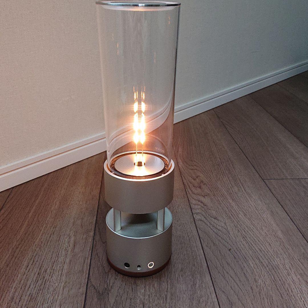 【1円】【美品】【中古】ソニー SONY グラスサウンドスピーカー Bluetooth対応 LEDライト付き LSPX-S1 _画像2